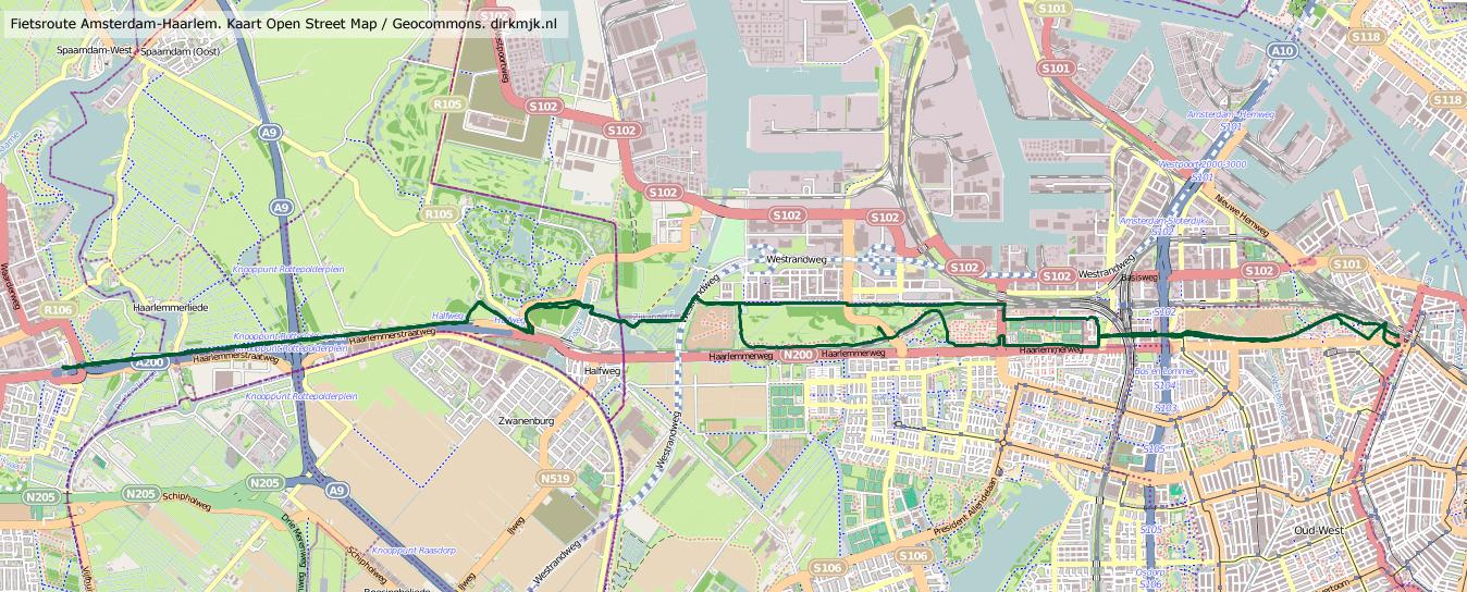 Fietsroute Naar Haarlem Weer Open Dirkmjk
